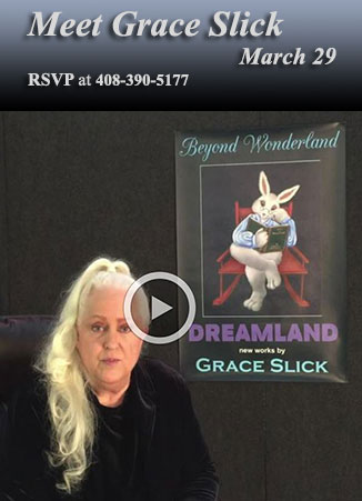 Grace Slick Show Announcement, by Grace Slick